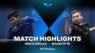 Thakkar Manav Vikash vs Kirill Skachkov | WTT Contender Budapest 2021 (R16)