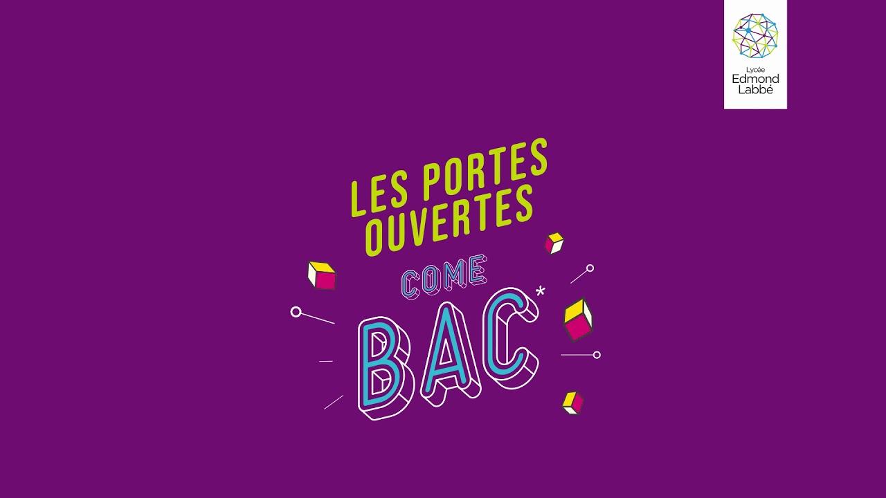 Lycée Edmond Labbé Douai Portes Ouvertes 2019 Youtube