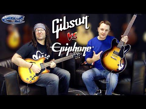 Gibson v Epiphone 335