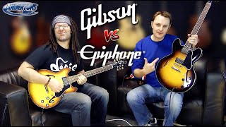 Gibson v Epiphone 335