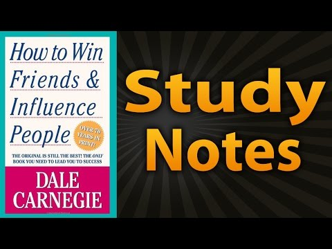 How To Win Friends And Influence People By Dale Carnegie Summary Insights