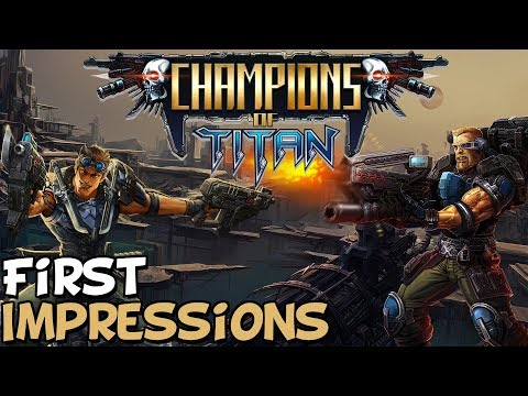 "Champions Of Titan First Impressions ""Is It Worth Playing?"""
