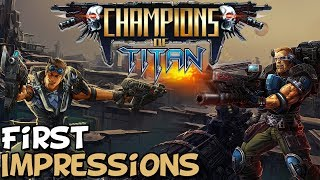 """Champions Of Titan First Impressions """"Is It Worth Playing?"""""""