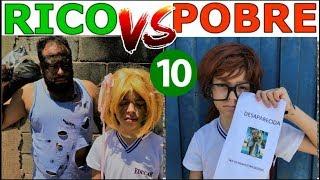RICO VS POBRE FAZENDO AMOEBA / SLIME #10