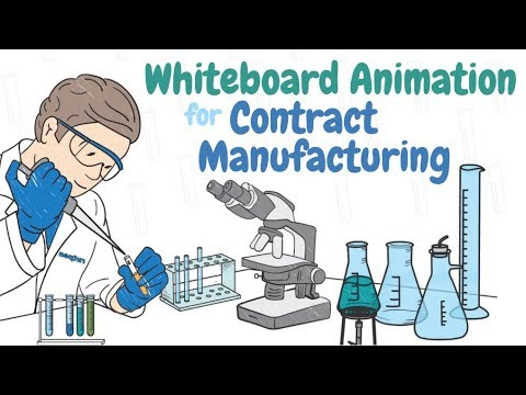 Whiteboard Animation for Contract Manufacturing | Video Production Company Reading Berkshire