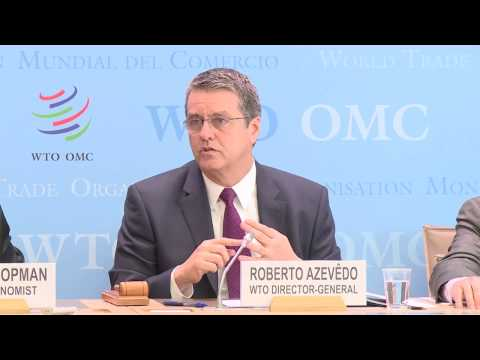 WTO Press Conference: Trade Forecast and 2016 figures