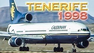 TENERIFE Airport 20 YEARS AGO - Tons of Memories!
