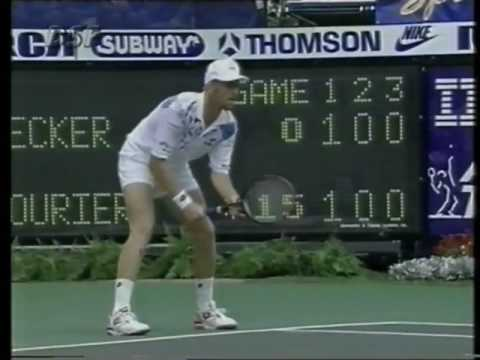 Indianapolis 1993 Final - Courier vs Becker