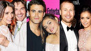 Vampire Diaries ... and their real life partners