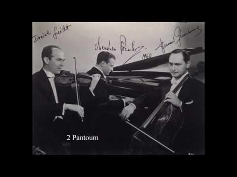 Ravel  Piano Trio - Beaux Arts Trio [original members]