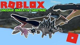 Roblox Dinosaur Simulator Christmas - FORGOTTEN DINOS, SKINS, REMAKE OF DINO SIM!