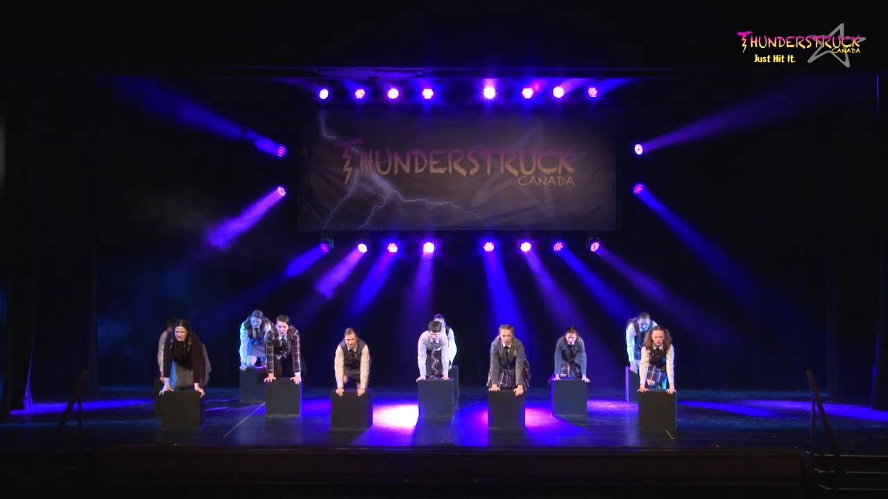 Thunderstruck Dance Competition 2015