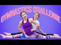 The Gymnastics Challenge (Family Edition) | Funny Brooklyn and Bailey Challenges: We laughed so hard while filming this funny Family Gymnastics Challenge for you all! We mixed in some cheer and dance moves among the splits, back bends, and cartwheels, too! So, who made you laugh the most???  Be sure to watch our Family Vlogs, here! http://ascendents.net/?v=mPYFaclQj6c?list=PL_SCossQygjuhcUO9Uj6UnOz8nOhHXbp3  Our favorite challenge videos have to the ones including our family, because you get to know your mom, your dad, and your siblings in ways that you maybe haven't before!  In this video we all try the following gymnastics, dance, and cheer moves and stunts:    * a Somersault   * Cartwheels   * a Handstand   * The Splits   * a Backbend and Kickover   * Leaps   * Toe Touches   * Freestyle  This challenge is perfect for teens at parties, families, friends, for boys, for girls, for kids and also children. (You might want to make sure there is a medic and ambulance on location for your fathers, though!) This is a family fun competition and game that will leave you laughing and having a great time!  Please leave a comment below of who you thought did the best in the challenge, and who you thought was the most fun!   Please also don't forget to click the