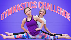 The Gymnastics Challenge (Family Edition) | Funny Brooklyn and Bailey Challenges