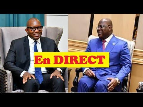 EN DIRECT :FATSHI NOMME LE NOUVEAU PREMIER MINISTRE DU GOUVERNEMENT DE L'UNION SACREE