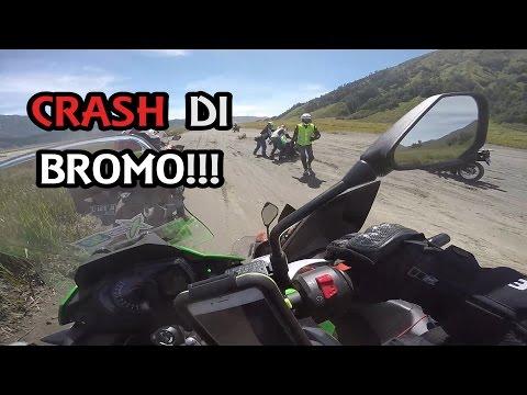 #243 Touring - CRASH di Bromo!!! (1/2) | Touring Kawasaki Versys X 250! Pt. 4