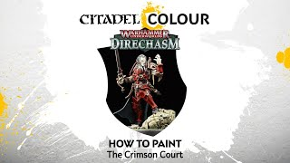 How to Paint: The Crimson Court
