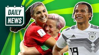 Deutschland & USA mit Kantersiegen! Neymar verweigert Rückkehr zu PSG! Kroatien-Talent zur TSG?