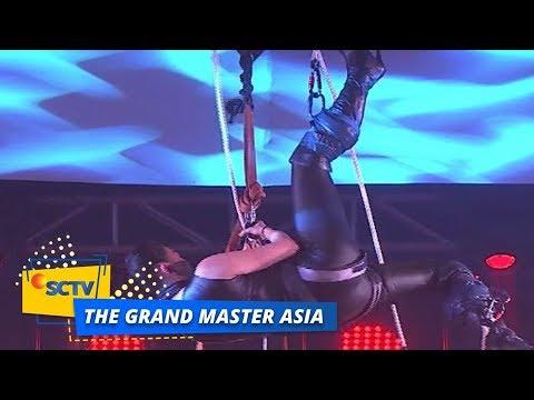 WOW! Jennifer Aiko Digantung di Panggung The Grand Master Asia Top 6