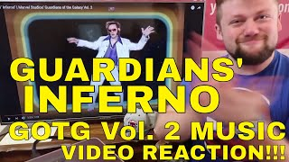 """""""GUARDIANS' INFERNO"""" MUSIC VIDEO - GOTG 2 - Reaction!!! Guardians of the Galaxy Vol. 2"""