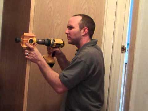 Charmant Cutting Door Knob Hole