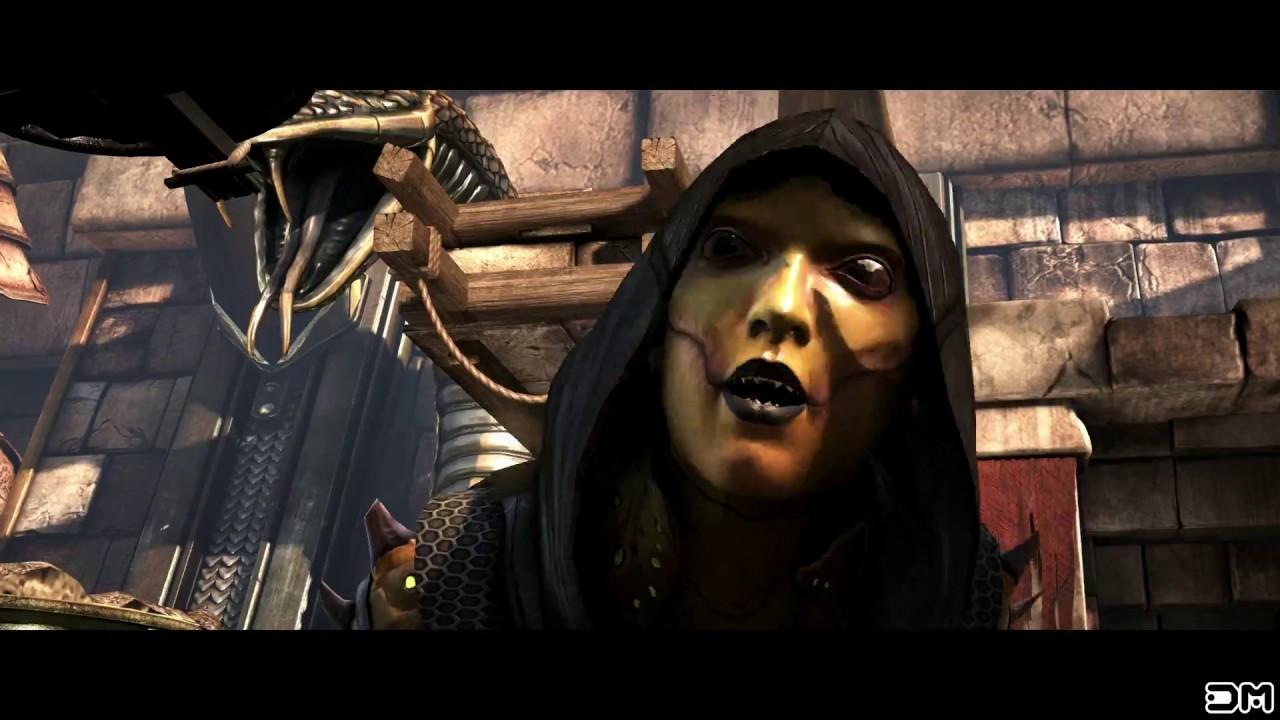 Mortal Kombat Xl Sonya Performs All Female Character Fatalities