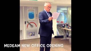 Medeam New Office Opening