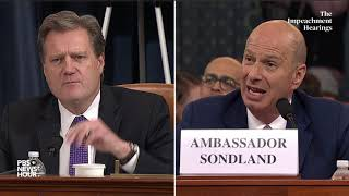 WATCH: Rep. Michael Turner's full questioning of Gordon Sondland | Trump impeachment hearings