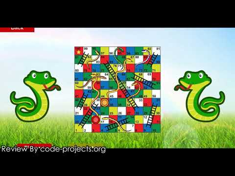 Snakes And Ladders Game In PYTHON With Source Code | Source Code & Projects