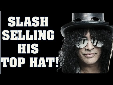 047facd038d Guns N  Roses News  Slash Selling His Top Hat   Steven Adler Wants to Play  With Dave Grohl!