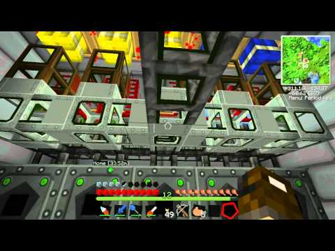 Technical Minecraft part 45. Glass Fibre and Energy Links
