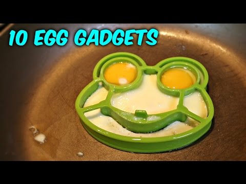 10 Egg Gadgets put to the Test