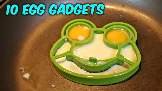 Repeat youtube video 10 Egg Gadgets put to the Test
