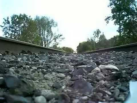 Camera Underneath Moving Train