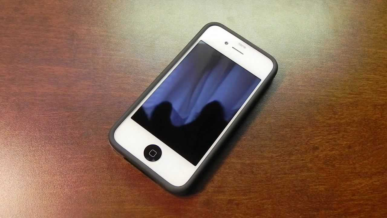 фото черный айфон 4s