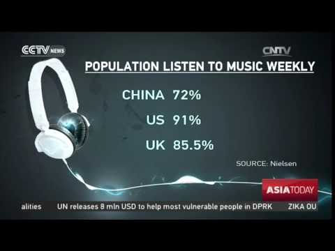 Entertain the Ears: 72% of Chinese people listen to music every week