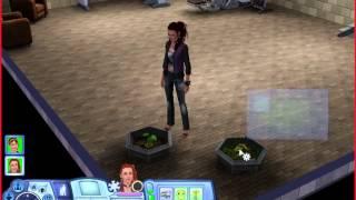 Как создать растамана (персонажа-растение) в Sims 3 студенческая жизнь .