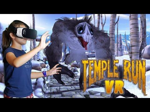Обзор игры Temple Run в очках Samsung Gear VR