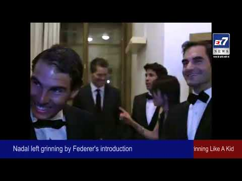 Laver Cup- Roger Federer Introduces Rafael Nadal, Leaves The Spaniard Grinning Like A Kid | Ex7News