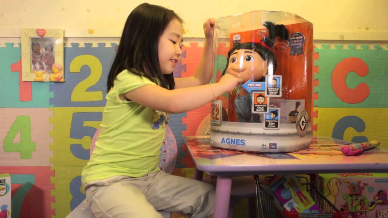 Toys Kids Want Despicable Me 2 Agnes Talking Stuff Toy With Jianna