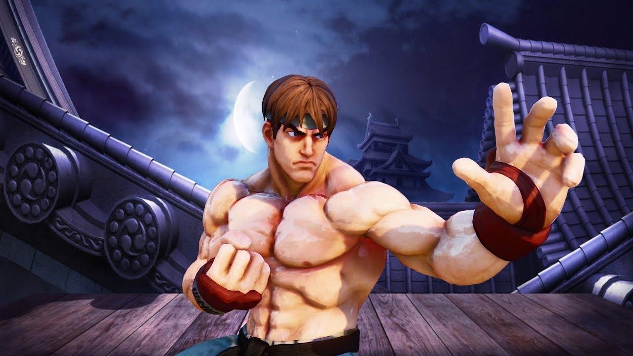 Steam Community Video Street Fighter 5 Ryu Shirtless Mod