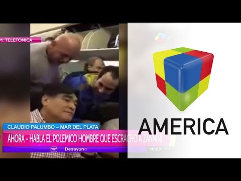 Habló el hombre que escrachó a Carlos Zannini en el avión