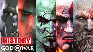 History - Evolution Of God Of War 2005-2018 [1080P HD 60FPS PS3, PS4]