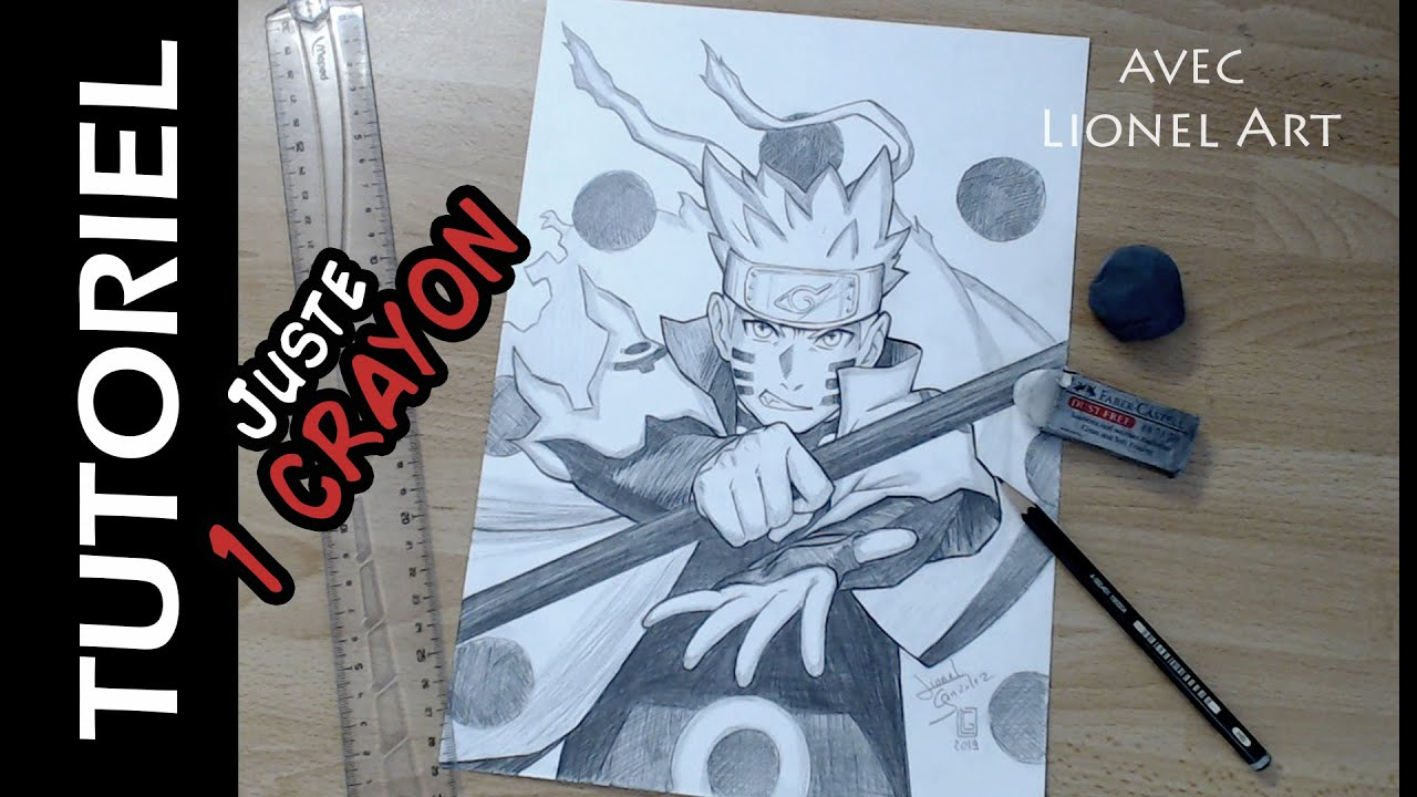 Comment Dessiner Naruto mode Ermite Rikudo