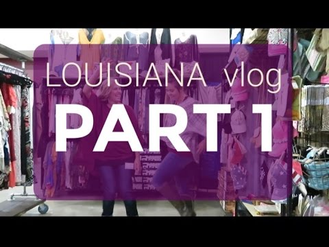 Louisiana Vlog PART 1//We lost our keys