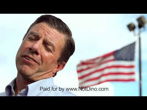 Dino Rossi TV Commercial running against Patty Murray