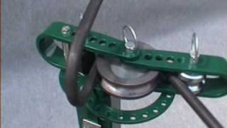 Cintreuse manuelle UB 10 d'Opti-Machines (vidéo 11)