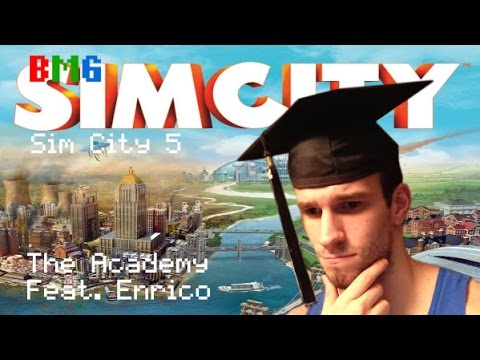 Button Mash Gaming - Sim City - Ep. 2 - The Academy |