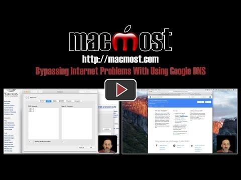 Bypassing Internet Problems With Using Google DNS