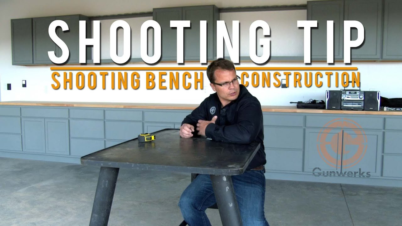 Shooting Tip Bench Construction YouTube